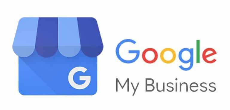 Google Firmeneintrag Logo mit Schriftzug
